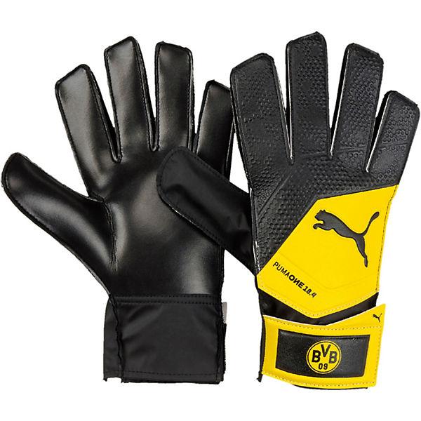 Torwarthandschuhe Bvb One Grip 18 4 Fur Jungen Fussballverein Borussia Dortmund