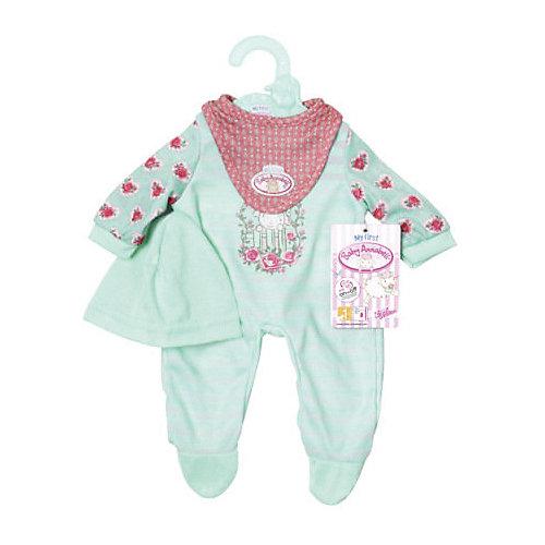 Одежда для куклы  my first Baby Annabell мятного цвета , 36 см от Zapf Creation