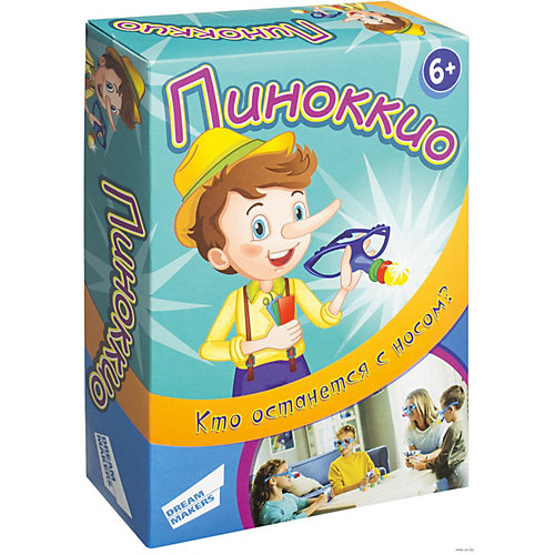 "Настольная игра Dream Makers ""Пиноккио"" от Dream Makers"