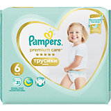 Трусики Pampers Premium Care 15+ кг, размер 6, 31шт.