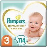 Подгузники Pampers Premium Care 6-10 кг, размер 3, 114 шт.
