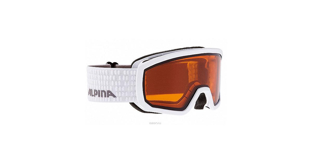Skibrille Scarabeo Jr. white weiß