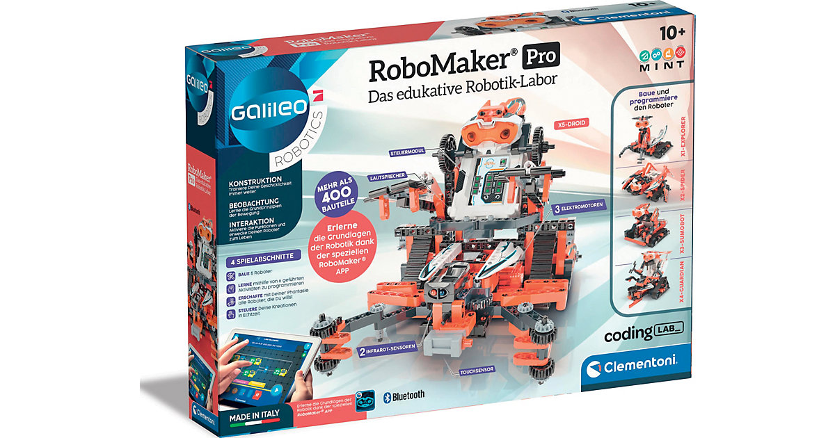 Clementoni · Galileo - Construction Challenge - Robomaker