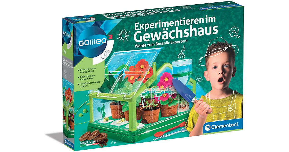 Galileo - Experimentieren im Gewächshaus   Garten > Gewächshäuser   Clementoni