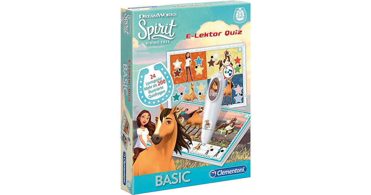 Clementoni · E-Lektor Quiz Basic - Spirit