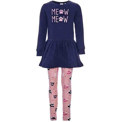Kinder Set Sweatkleid + Leggings NMFVIVI