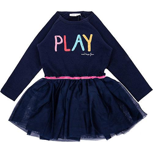 NAME IT Kinder Sweatkleid NMFNAGINA , organic cotton Gr. 122 Mädchen Kinder   05713743755230