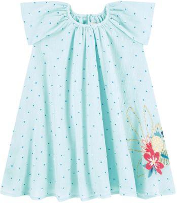 Платье Catimini для девочки - бирюзовый