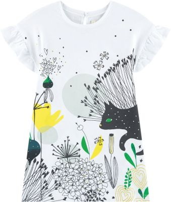Платье Catimini для девочки - белый
