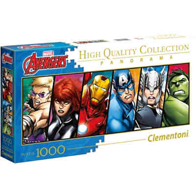 Panorama-Puzzle 1000 Teile - Avengers