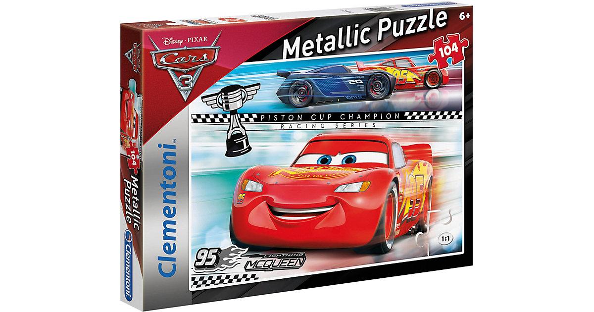 Metallic Puzzle 104 Teile - Cars