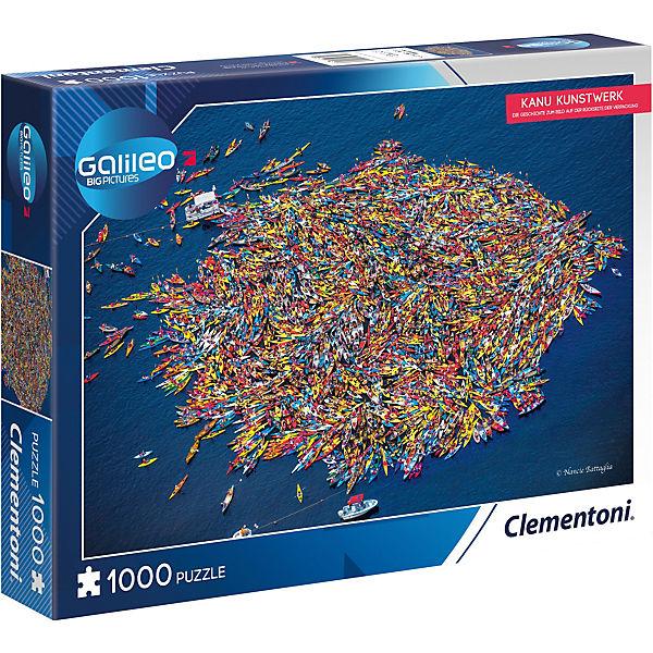 Galileo Big Picture Puzzle 1000 Teile - Kanu Kunstwerk, Galileo