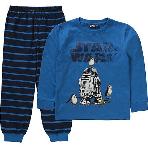 Star Wars Schlafanzug R2D2 Gr. 116/122 Jungen Kinder | 04060617508401