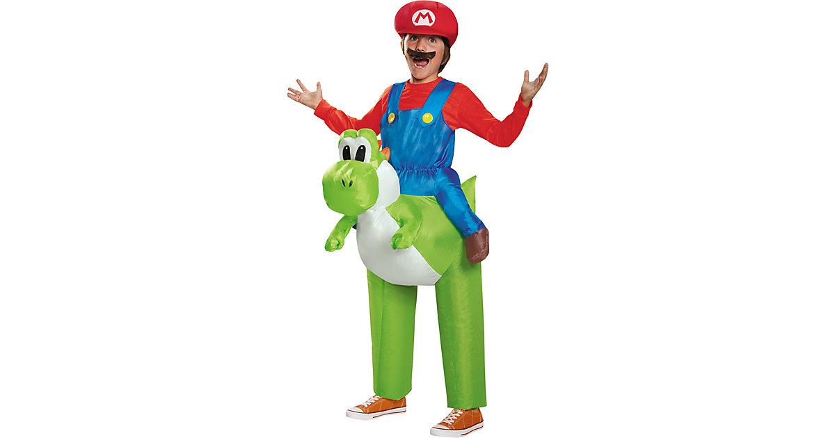 Kostüm Mario Riding Yoshi inflateable Child grün Gr. 128/137 Jungen Kinder