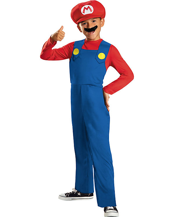 Kostüm Mario Classic S, Super Mario Mario Mario dbb55b