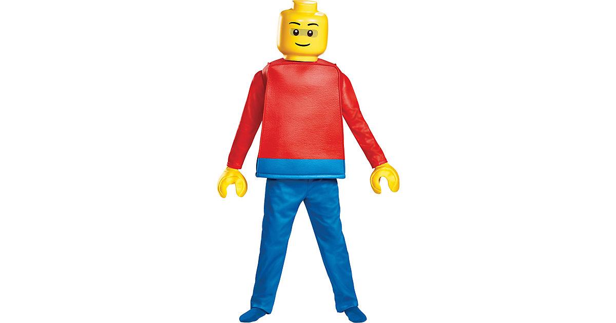 Kostüm Lego Guy M mehrfarbig Gr. 128/134 Jungen Kinder