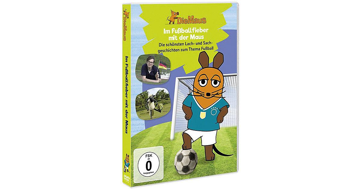 DVD Die Sendung mit der Maus - Fussballfieber m...
