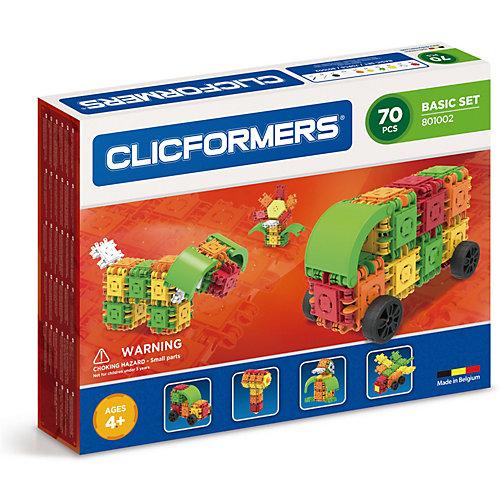 Конструктор CLICFORMERS  Basic Set 70 деталей от Clicformers
