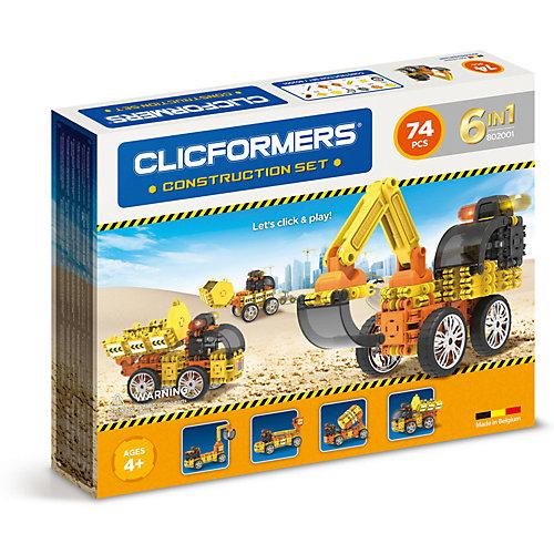 Конструктор CLICFORMERS  Construction set 74 деталей от Clicformers