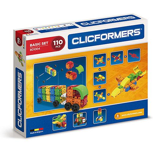 Конструктор CLICFORMERS  Basic Set 110 деталей от Clicformers
