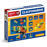 Конструктор CLICFORMERS  Basic Set 110 деталей