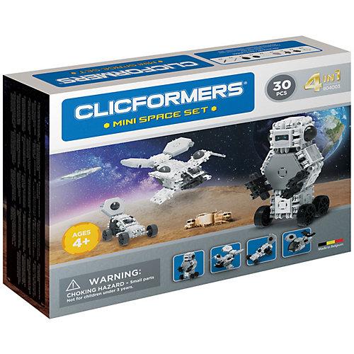 Конструктор CLICFORMERS  Space set mini 30 деталей от Clicformers