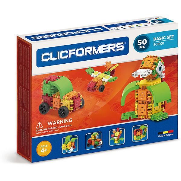 Конструктор CLICFORMERS  Basic Set 50 деталей