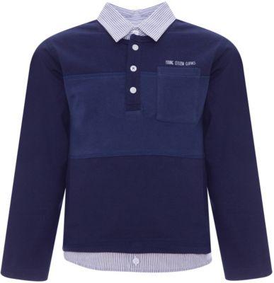 Рубашка-поло Z Generation для мальчика - голубой