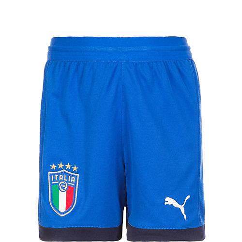 PUMA Kinder Shorts Squadra Azzurra Gr. 128 | 04059504608102