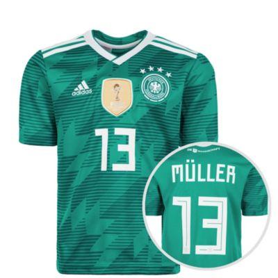 Kinder Trikot DFB WM 2018 MÜLLER, adidas Performance