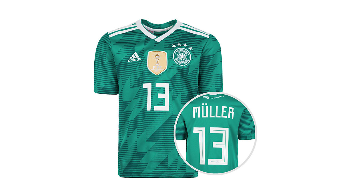 ADIDAS PERFORMANCE · Kinder Trikot DFB WM 2018 MÜLLER Gr. 176