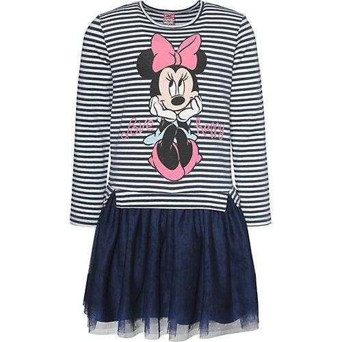 Disney Minnie Mouse Kinder Jerseykleid mit Tüllrock Gr. 128/134 Mädchen Kinder | 04022158457525