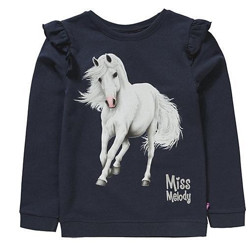 Miss Melody Sweatshirt mit Rüschen Gr. 104/110 Mädchen Kleinkinder | 04022158458706