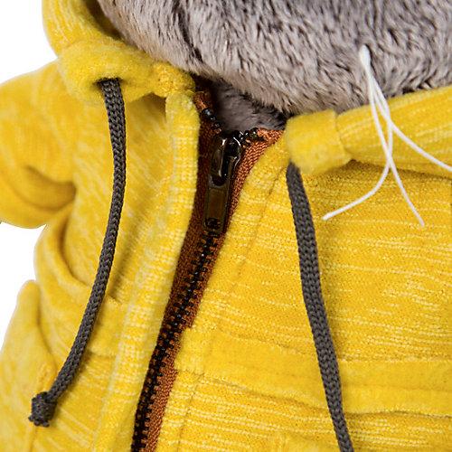 "Мягкая игрушка Budi Basa Кот Басик в желтой куртке ""B&Co"", 19 см от Budi Basa"