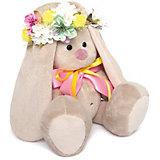 Мягкая игрушка Budi Basa Зайка Ми в веночке и с бантиком, 23 см