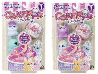 """Игрушка-антистресс Basic fun """"Cake Pop Cuties"""", 1 серия, 3 шт."""
