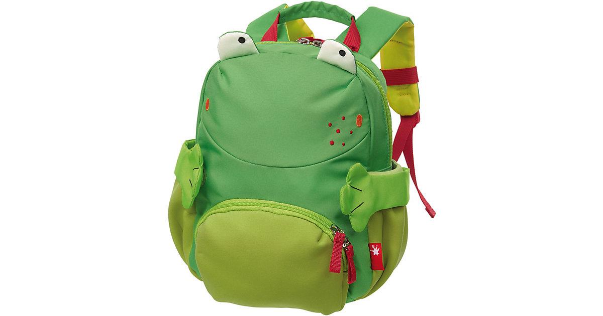 Kinderrucksack Frosch grün