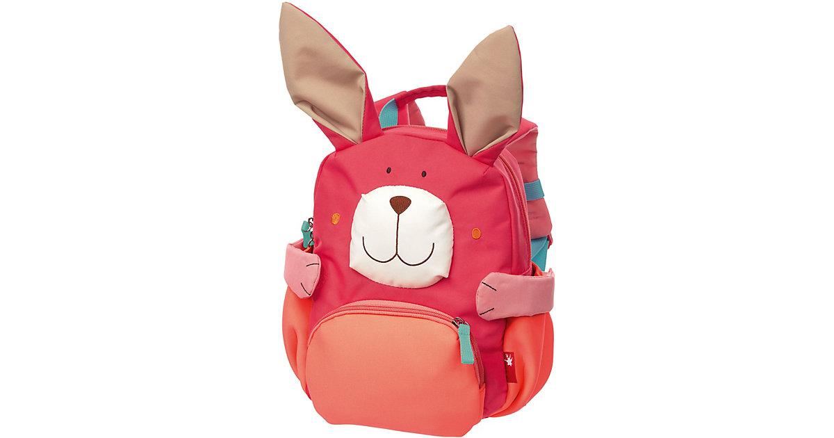 Kinderrucksack Hase pink