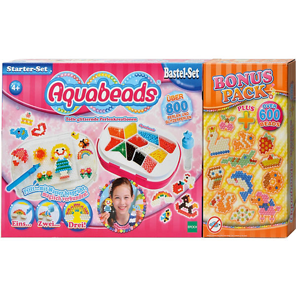 Aquabeads Starter-Set Bonus-Pack