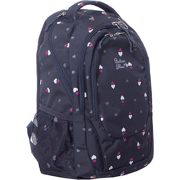 Рюкзак Button Blue для девочки