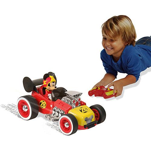 """Disney Автомобиль р/у """"Микки и весёлые гонки: Родстер Микки"""" (16 см) от IMC Toys"""