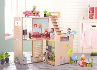 HABA 301988 Puppenhaus-Möbel Schlafzimmer für Erwachsene Little Friends