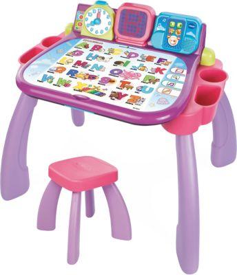 3-in-1 Magischer Schreibtisch, lila/pink rosa/lila