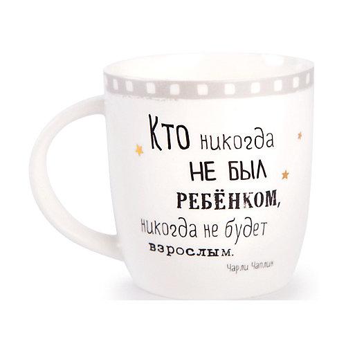 """Кружка Budi Basa """"Чарли Чаплин"""" - белый от Budi Basa"""