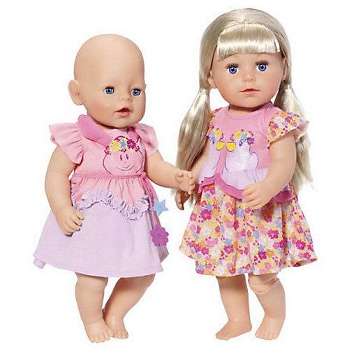 Платье для куклы BABY born, розово-сиреневое от Zapf Creation