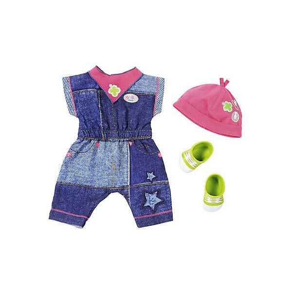 """Одежда для куклы BABY born """"Джинсовая коллекция"""", комбинезон"""
