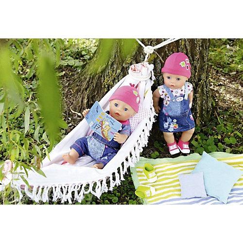 """Одежда для куклы BABY born """"Джинсовая коллекция"""", комбинезон от Zapf Creation"""