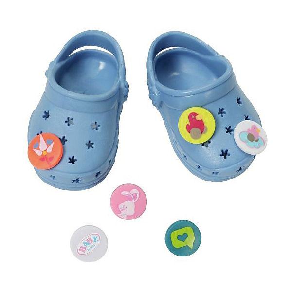 Сандали фантазийные BABY born , голубые