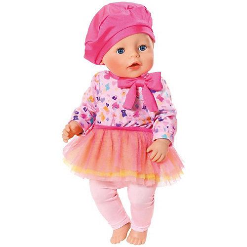 """Одежда для куклы BABY born """"В погоне за модой"""", розового цвета от Zapf Creation"""
