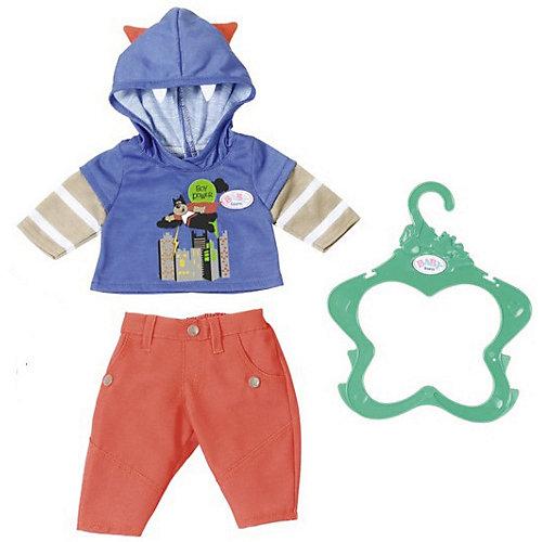 Одежда для  мальчика BABY born оранжево-синяя от Zapf Creation